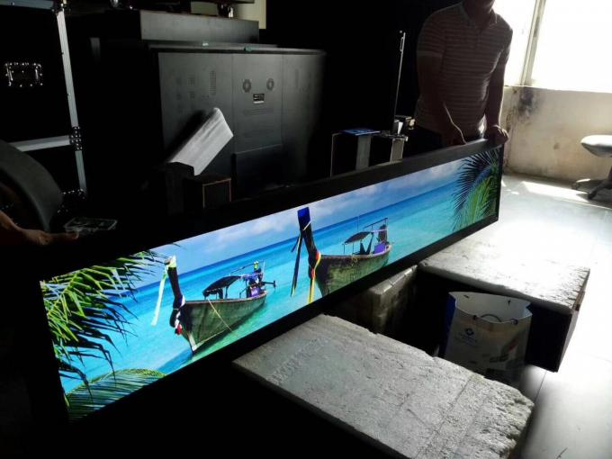 TFT Type Ultra Wide LCD Display 700 ~ 2000 Nits Brightness For Shopping Mall / Club / Bar
