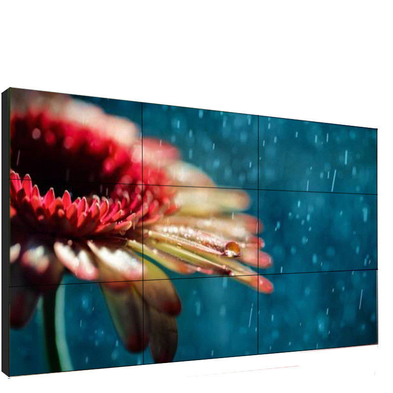 500 Cd/m2 4K Digital Signage Video Wall Display 55 Inch For