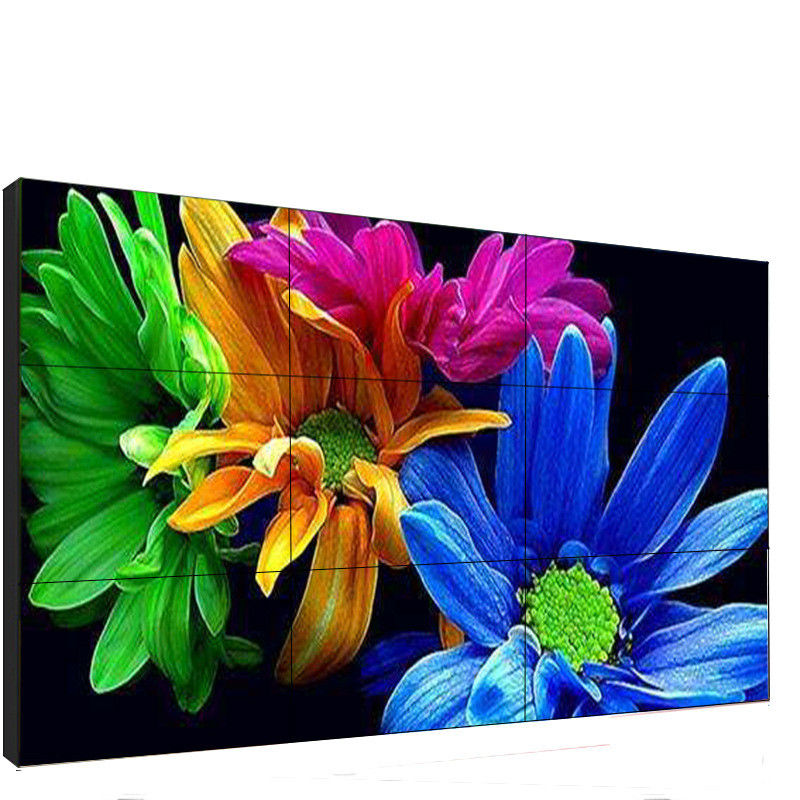 500 Cd/m2 4K Digital Signage Video Wall Display 55 Inch For Commercial Exhibition