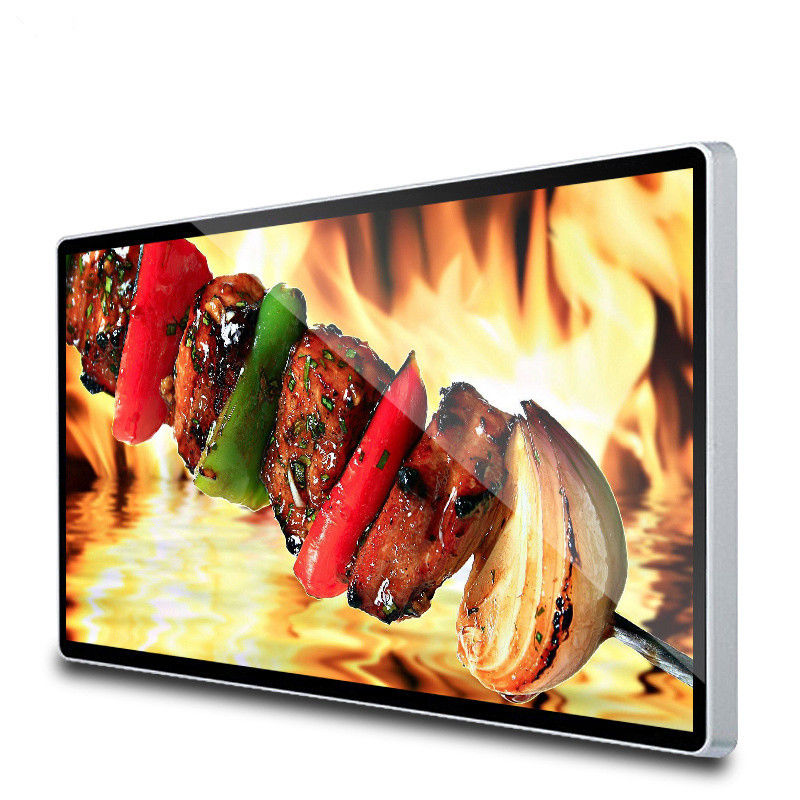 Anti Theft black 4G Multi Touch Digital Advertising Screens Interactive Signage Display