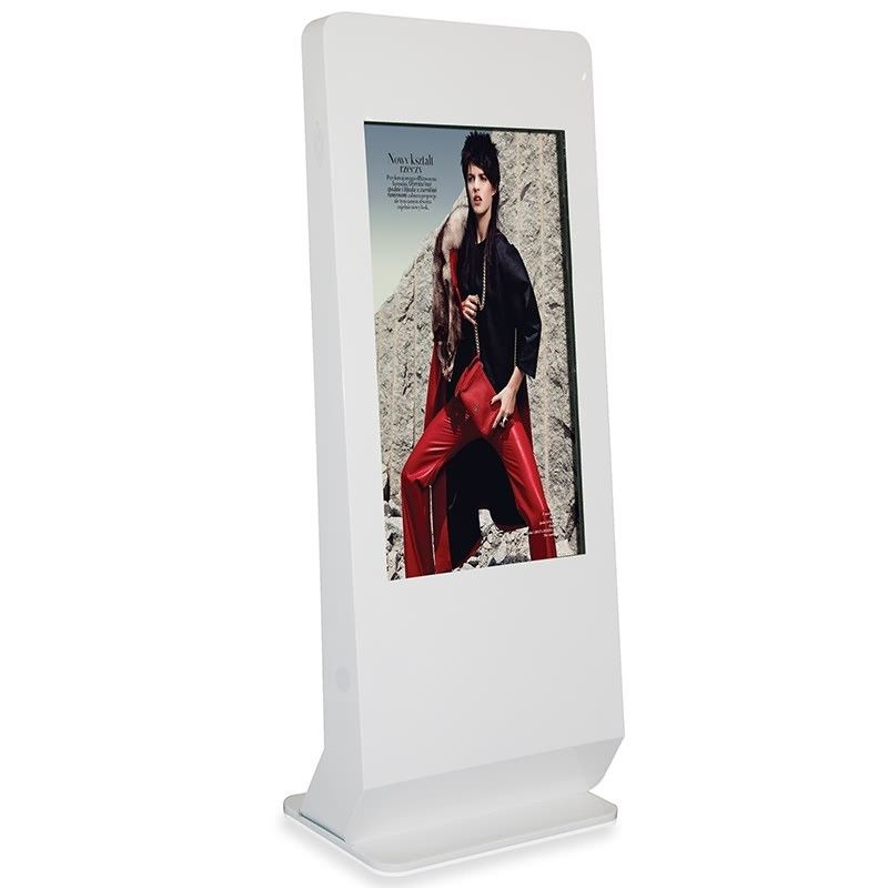 Customized Color Touch Screen Kiosk Metal Case With Remote Control Software