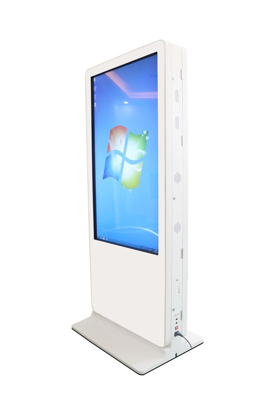 Double Sided Multi Touch Digital Signage 1920 RGB × 1080 FHD With Metal Case