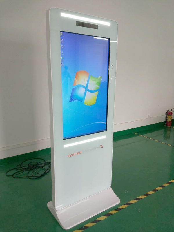 43 Inch Portable Touch Screen Kiosk Panel Photo Booth Kiosk Tempred Glass Surface