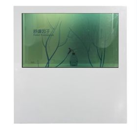 1080P Standalone Transparent LCD Display Box 55 Inch Support Multi Language