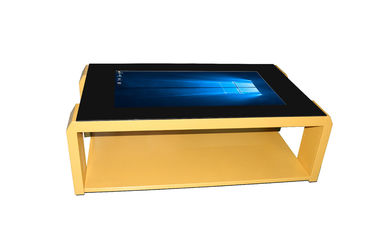 Waterproof Flexible Multi Touch Screen Table 43 '' Modern Style With One Year Warranty