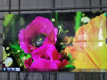 China Rack / Wall Mounted Zero Bezel Video Wall 49 55 Inch  Interactive Touch Screen factory